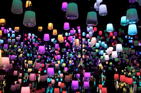 designboom teamlab teamlab suspends forest of resonating ls at maison et objet