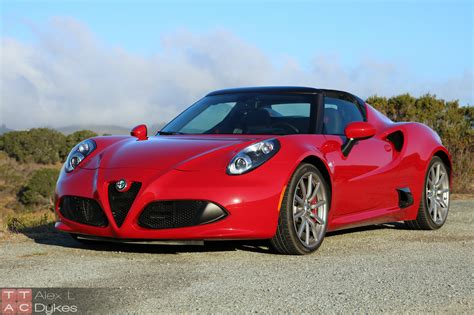 Alfa Romeo 4 by 2016 Alfa Romeo 4c Exterior 024 The About Cars
