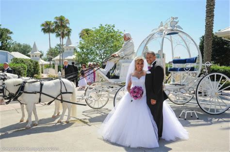 Wedding In Disneyland by Disney World Wedding Dresses