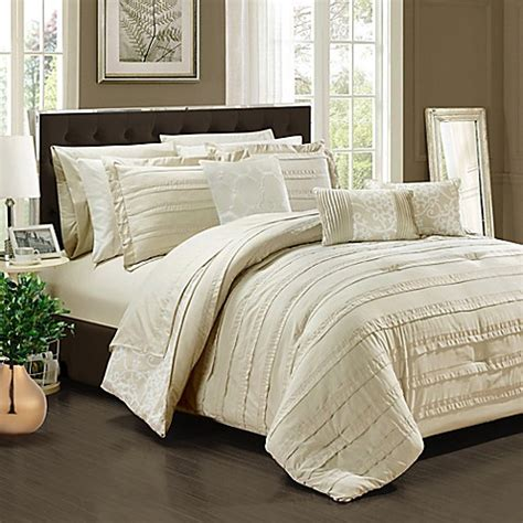 Bed Bath And Beyond Comforter Sets by Chic Home Isobelle 10 Comforter Set Bed Bath Beyond