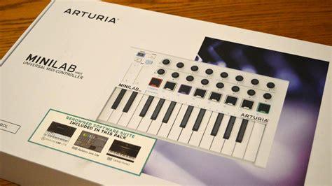 Arturia Minilab Mk2 arturia minilab mkii midi controller review all things gear
