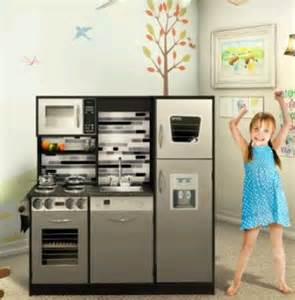 quot stainless quot play kitchen set who said nothing in