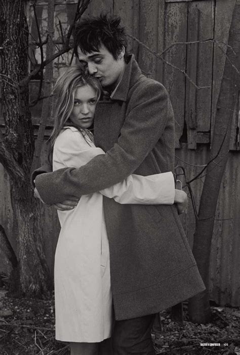 Kate Moss And Pete Doherty by Kate Moss Pete Doherty