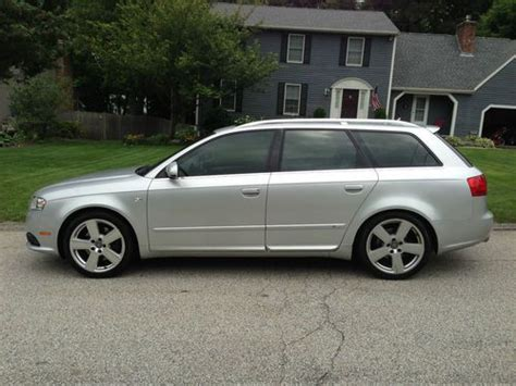 2007 audi a4 avant 2 0t quattro 11 990 victoria cus nissan buy used 2007 audi a4 avant s line package quattro 2 0t fully loaded and serviced in warwick