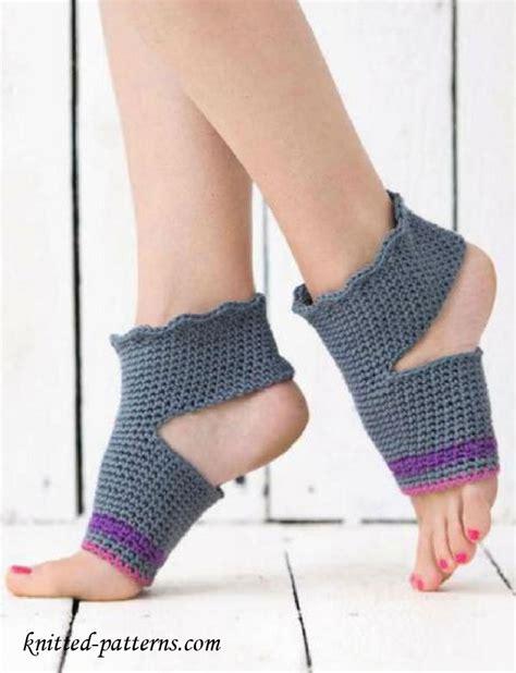 crochet pattern yoga socks crochet yoga socks