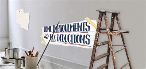 5 tax deductible home improvements and repairs