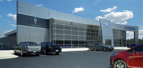 New Ford Dealers by Sterling Ford Lincoln Unveils 6 Million Dealership