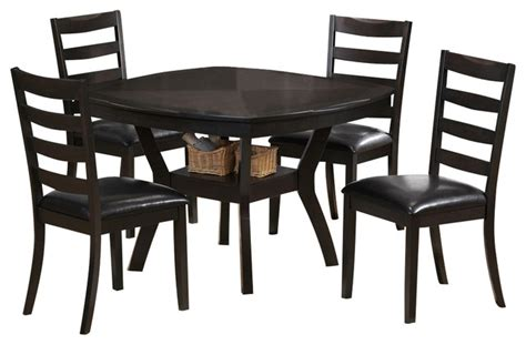 monarch specialties 5 48 inch square dining room set