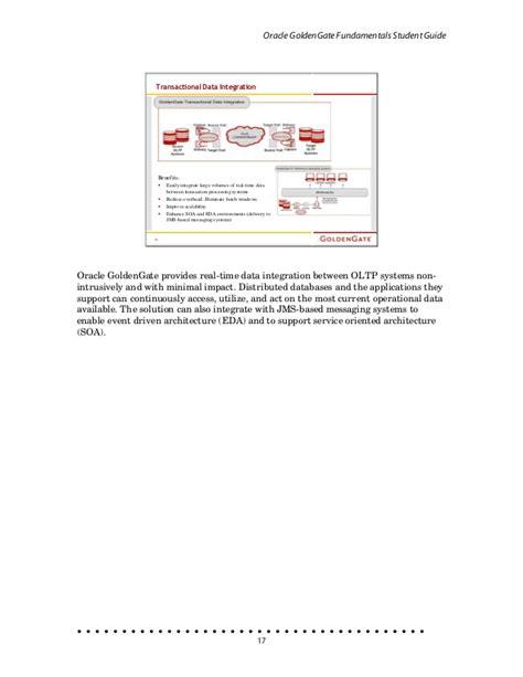 goldengate fundamentals student guide version 10 4