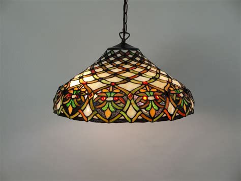 Create An Unique Ambiance Inside Your Room With Stained Stained Glass Ceiling Lights