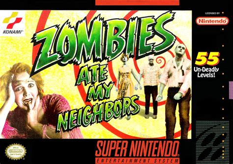 my ate zombies ate my neighbors snes nintendo