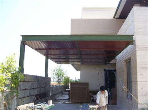metal car porch mild steel car porch fabrication services in bhai himmat