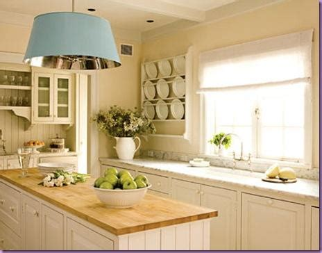 White Kitchen With Wood Countertops by Modern Kitchen Interior Designs March 2011