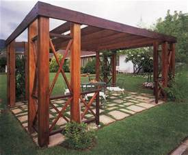 How To Make A Wooden Pergola by Build A Pergola