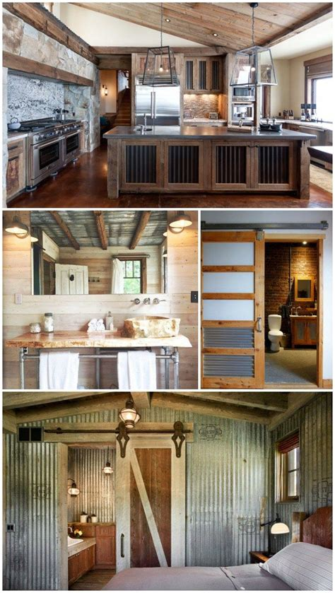 good home construction creating a rustic industrial look 156 best corrugated craziness images on pinterest