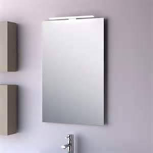 miroir salle de bain 50x80 cm horizontal ou vertical firenze