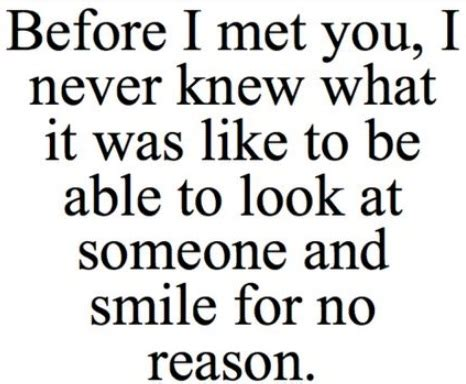 cute quotes for your boyfriend to make him smile image