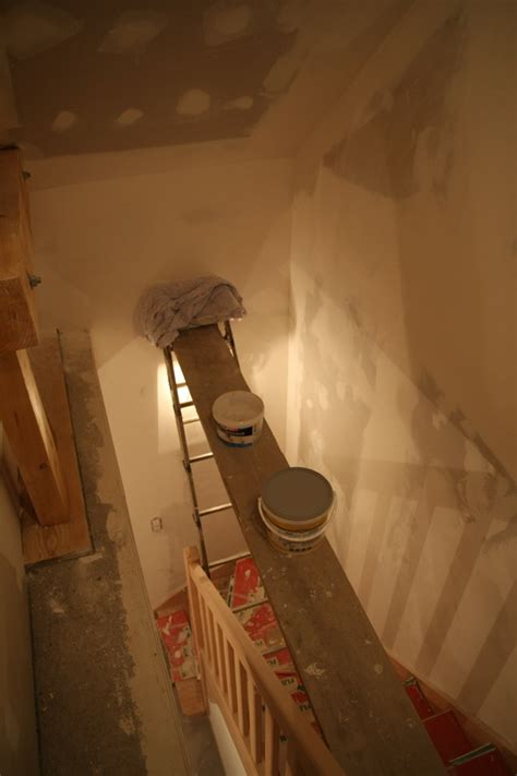Comment Peindre Une Cage D Escalier Tournant by Cloisons Isolation Placage Le De La