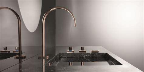 Brushed Bronze Kitchen Faucet Dornbracht La Robinetterie Or Rose Jo Yana