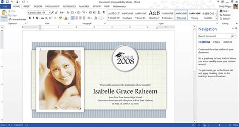 Get Microsoft S Best Graduation Templates Graduation Invitation Templates Microsoft Word