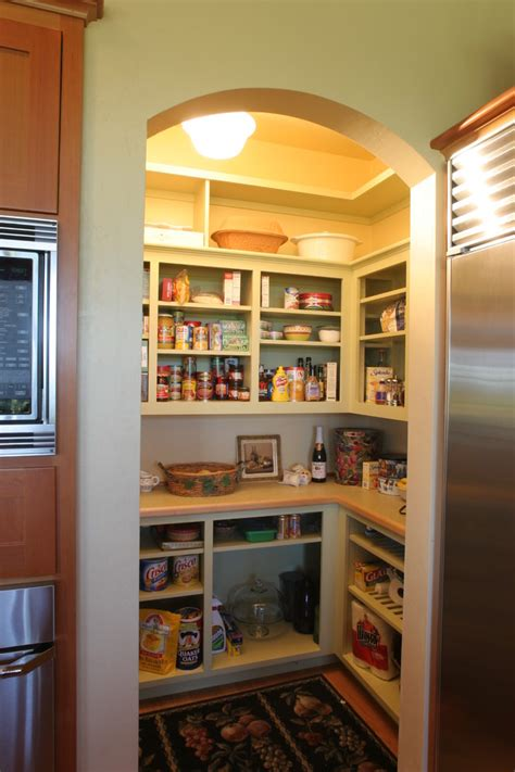 small kitchen open pantry must for all downsized