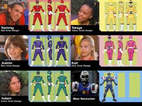 power rangers names and colors power rangers turbo season 5 original rangers by gera27
