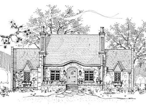 storybook cottage house plans cabins