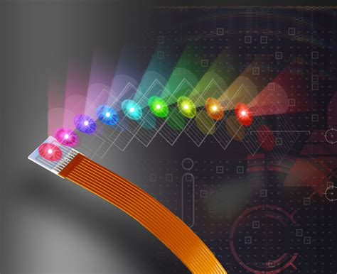 led technology lights opto technology led module offers nine colors of light