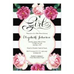 Girl baby shower invitations amp announcements zazzle