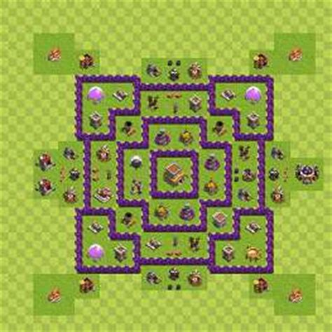 layout coc th8 unik town hall lv 8 migliori layout fight club academy website