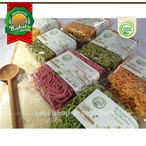 Mie Sayur Organik Wortel mie sehat goreng non msg 85 gram buah naga sayur wortel