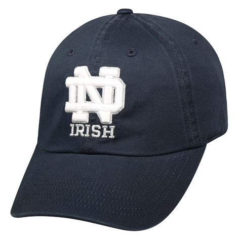ncaa s baseball hat of notre dame