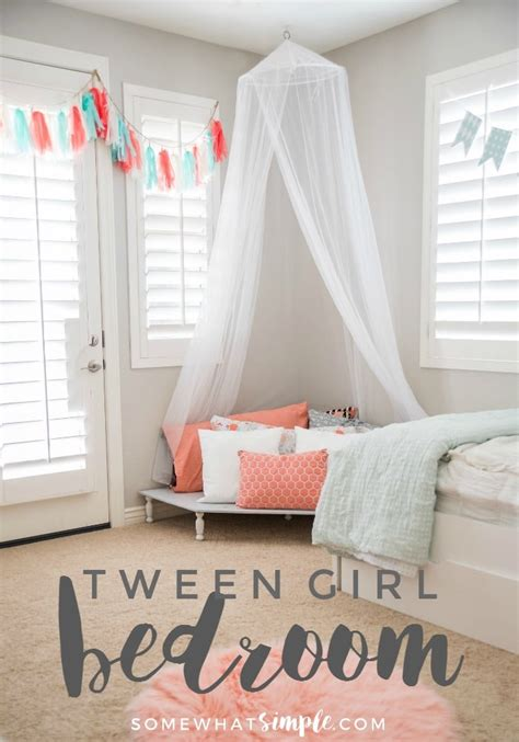 Tween Room Decor Tween Bedroom A Space Just For Somewhat Simple