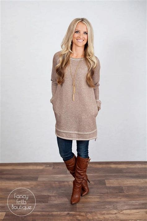 Tunic Shirtdress Or Supposed Wear Some With That by 25 Best Ideas About Tunic Sweater On Big