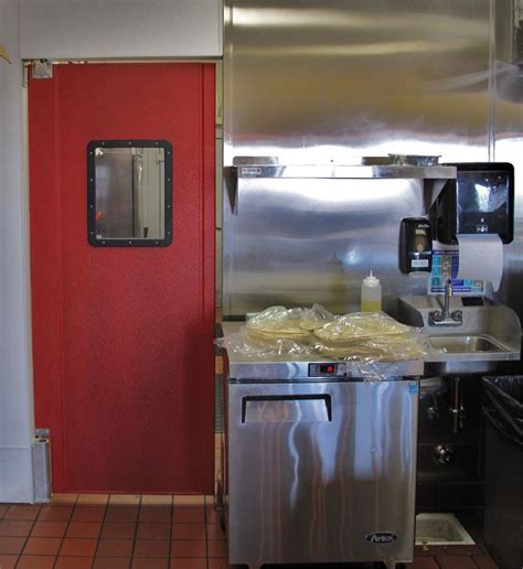Restaurant Kitchen Traffic Doors Restaurant Doors In Restaurant Kitchen Swing Doors