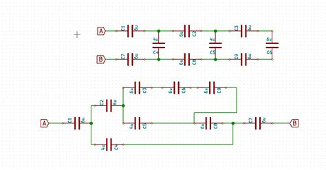 capacitor circuit questions capacitor circuit capacitance question electrical engineering stack exchange