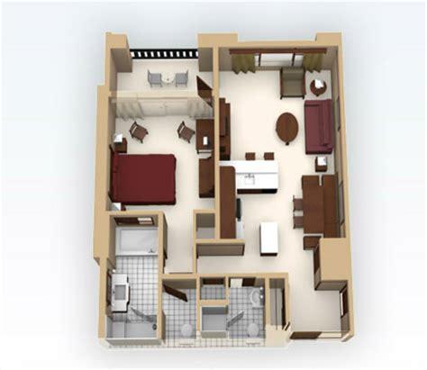 Disney Grand Californian Villas Floor Plan - grand californian 1 bedroom studio design gallery