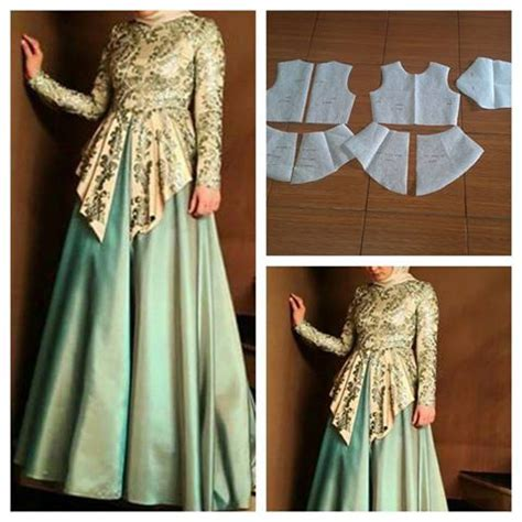 Gamis Pattern gamis pattern order by click our link line modelliste