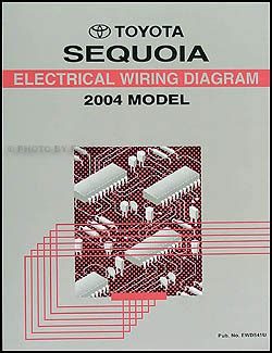 service manual manual repair autos 2003 toyota sequoia electronic toll collection service 2004 toyota sequoia repair shop manual original set