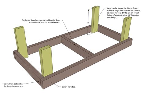 2x4 bench seat plans sbr access 2x4 chair plans free