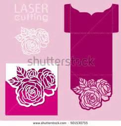 flower die cut template cut stock images royalty free images vectors