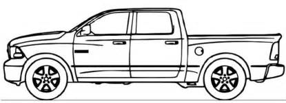 dodge truck coloring pages dodge ram truck coloring page coloring pages