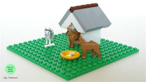 lego dog house how to build a lego dog house tutorial youtube