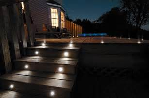 patio step lights 8 ways to use step lights photo inspiration pegasus
