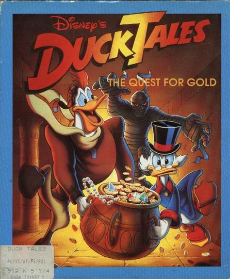 disney s duck tales the quest for gold for amiga 1990