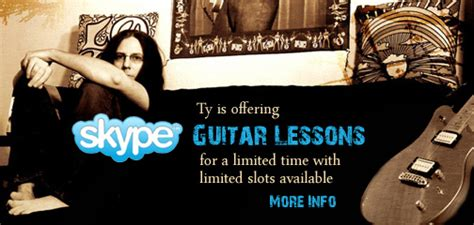 tutorial guitar zombie ty tabor from king s x offering guitar lessons