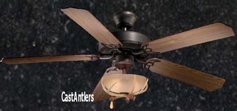 standard size fans 52 quot rustic ceiling fan w