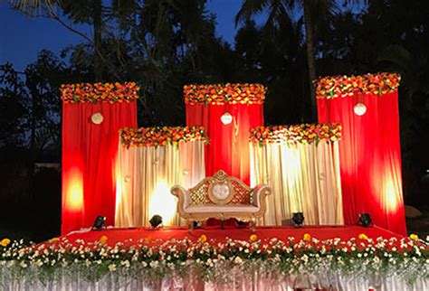 wedding reception stage decorations images wedding dress