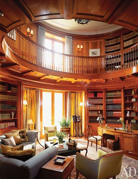 library house home library bookshelf design photos architectural digest