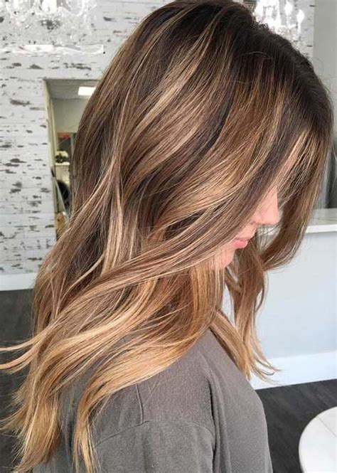 amazing balayage highlights hair color ideas